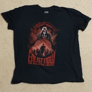 Galactic Empire shirt and it glows in the dark